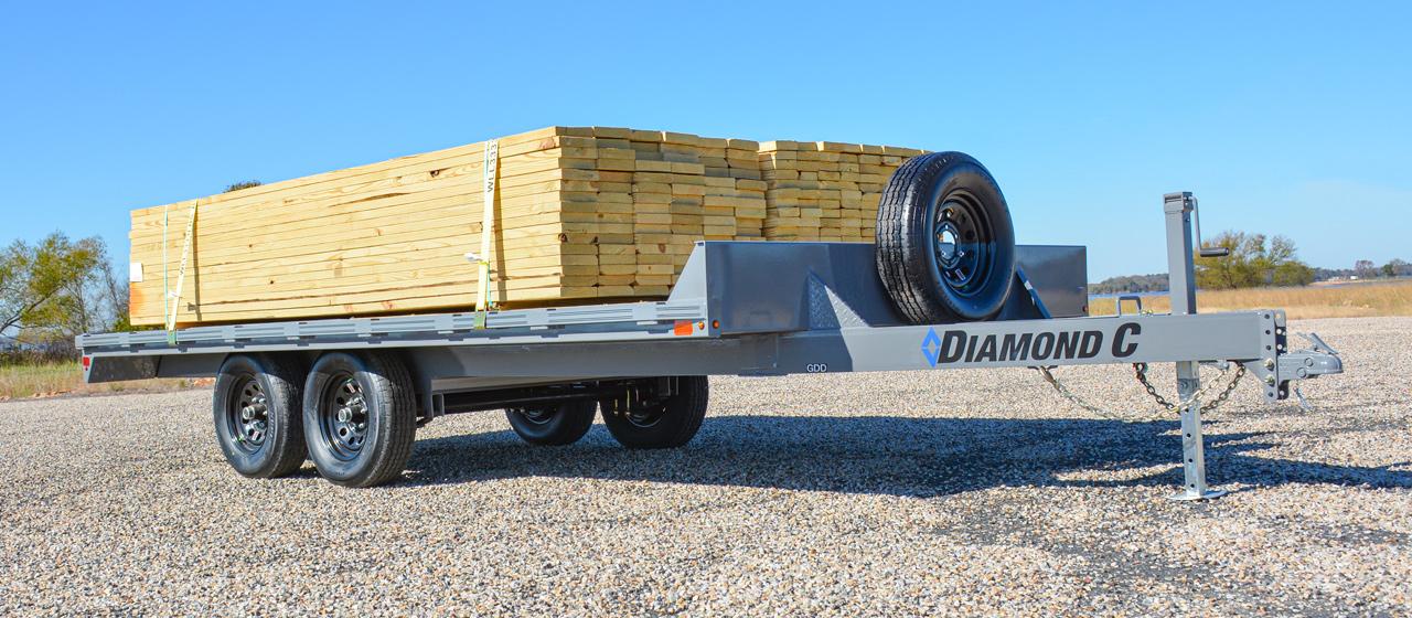 Diamond C GDD Deck Over Equipment Trailer