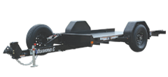 DSA | Single Axle Hydraulically Dampened Tilt Trailer