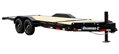 HDT | Low Profile Hydraulically Dampened Tilt Trailer