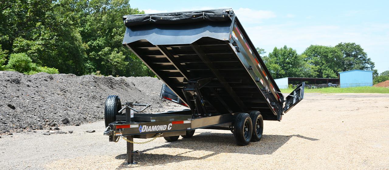 Diamond C DOD Deck-Over Dump Trailer