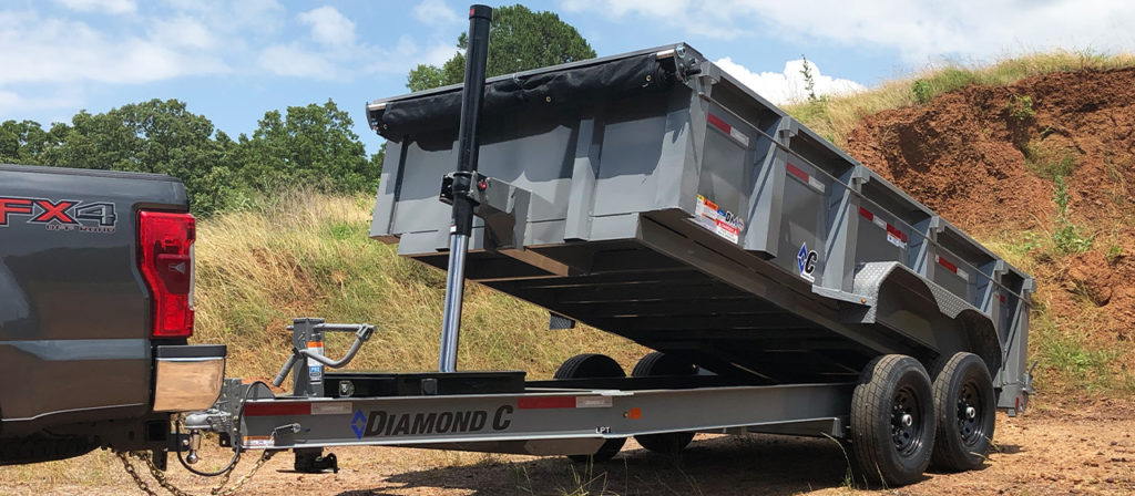 Diamond C LPT Dump Trailer