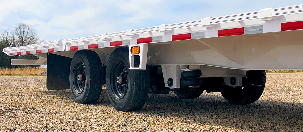 Air Ride Suspension with Front Lift Axle