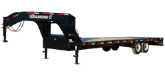 FMAX208 | Single Wheel Tandem Axle Gooseneck Trailer