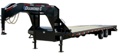 FMAX210SS | Tandem - Super Single Gooseneck Trailer