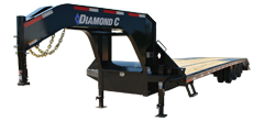 FMAX310 | Triple - Dual Wheel Gooseneck Trailer