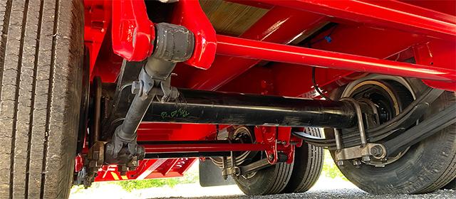 Heavy duty adjustable suspension