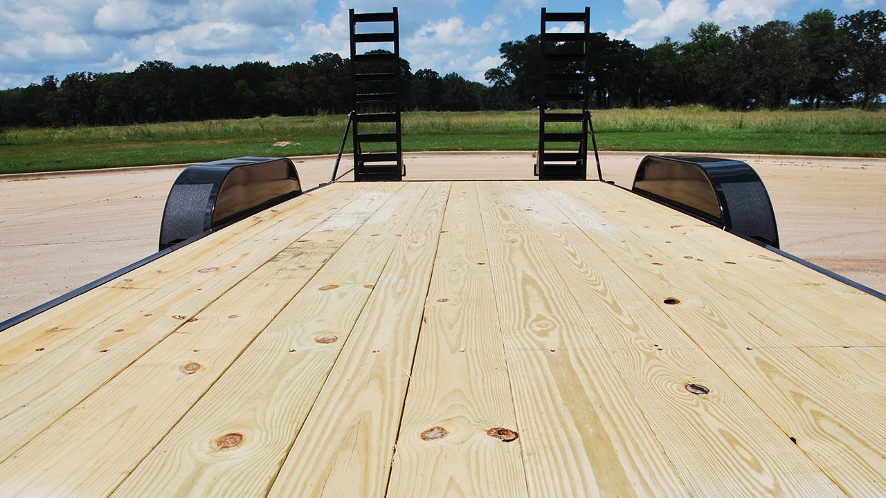 """GTF 2"""" Treated Lumber Floor"""