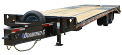 PX210 | Tandem - Dual Wheel Pintle Hitch Trailer