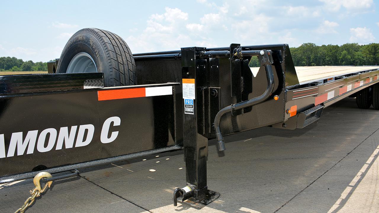 2 - 12,000 lb Drop-Leg Jacks