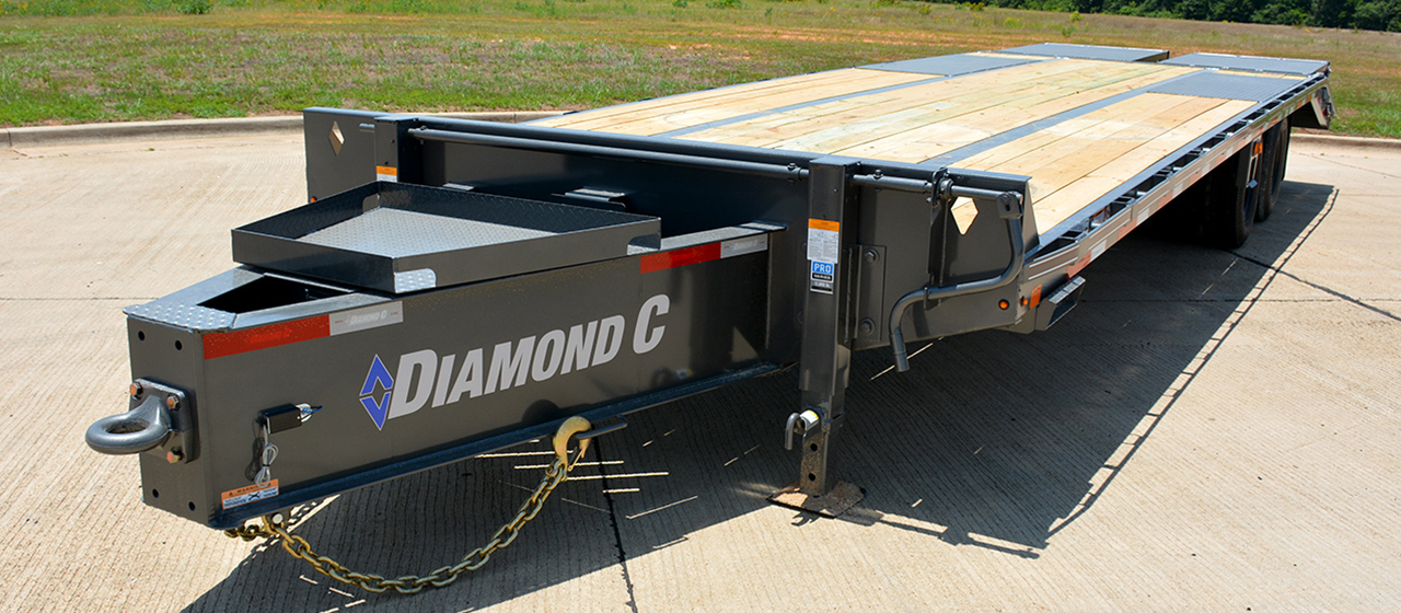 Diamond C PX212 Pintle Hitch Engineered Beam Trailer