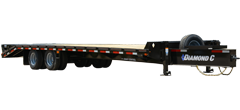 PX216 | Tandem - Dual Wheel Pintle Hitch Trailer