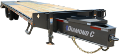 PX212 | Tandem - Dual Wheel Pintle Hitch Trailer