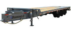 PX312 | Triple - Dual Wheel Pintle Hitch Trailer