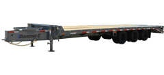 PX310 | Triple - Dual Wheel Pintle Hitch Trailer
