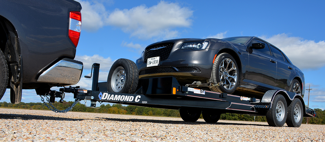 Diamond C GTF Automobile Trailer