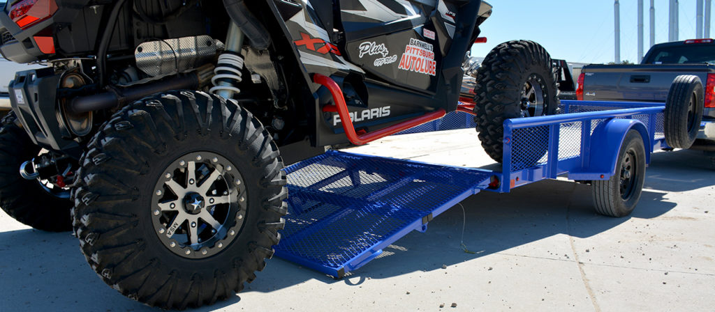 Diamond C PSA Premium Single Axle Utility Trailer