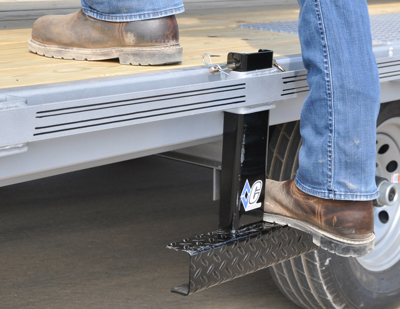 Stake Pocket Accessory - Deck Access Step