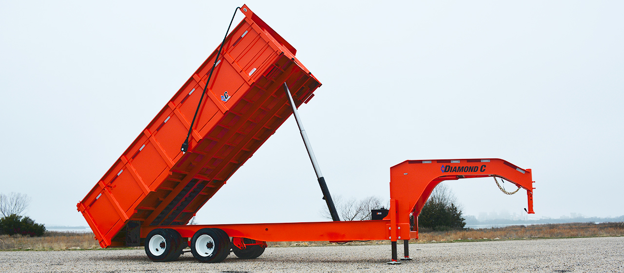 Diamond C WDT Dump Trailer