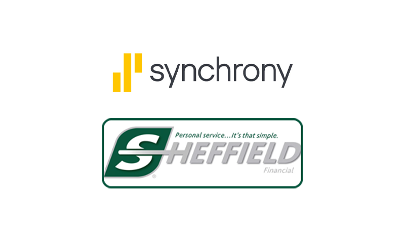 Synchrony and Sheffield Logos