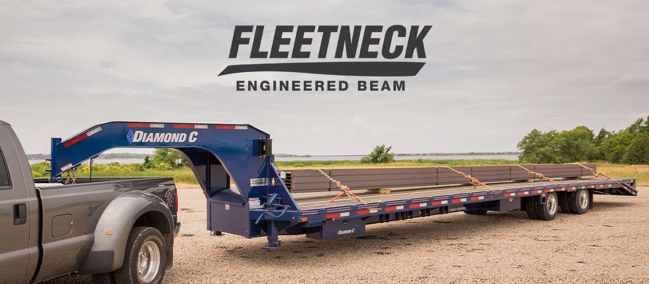 Fleetneck Engineered Beam Trailer