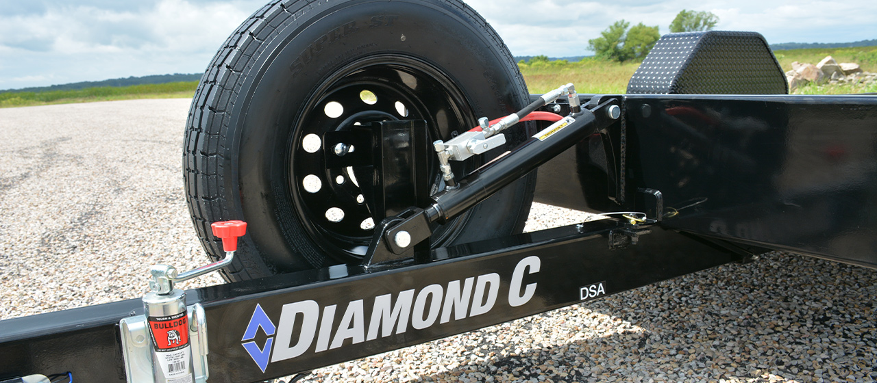 Diamond C DSA Tilt Equipment Trailer