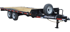 DEC | Heavy Duty Deck-Over Equipment Trailer