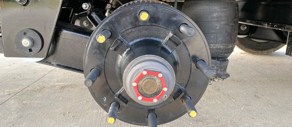 Electric Over Hydraulic Drum Brakes